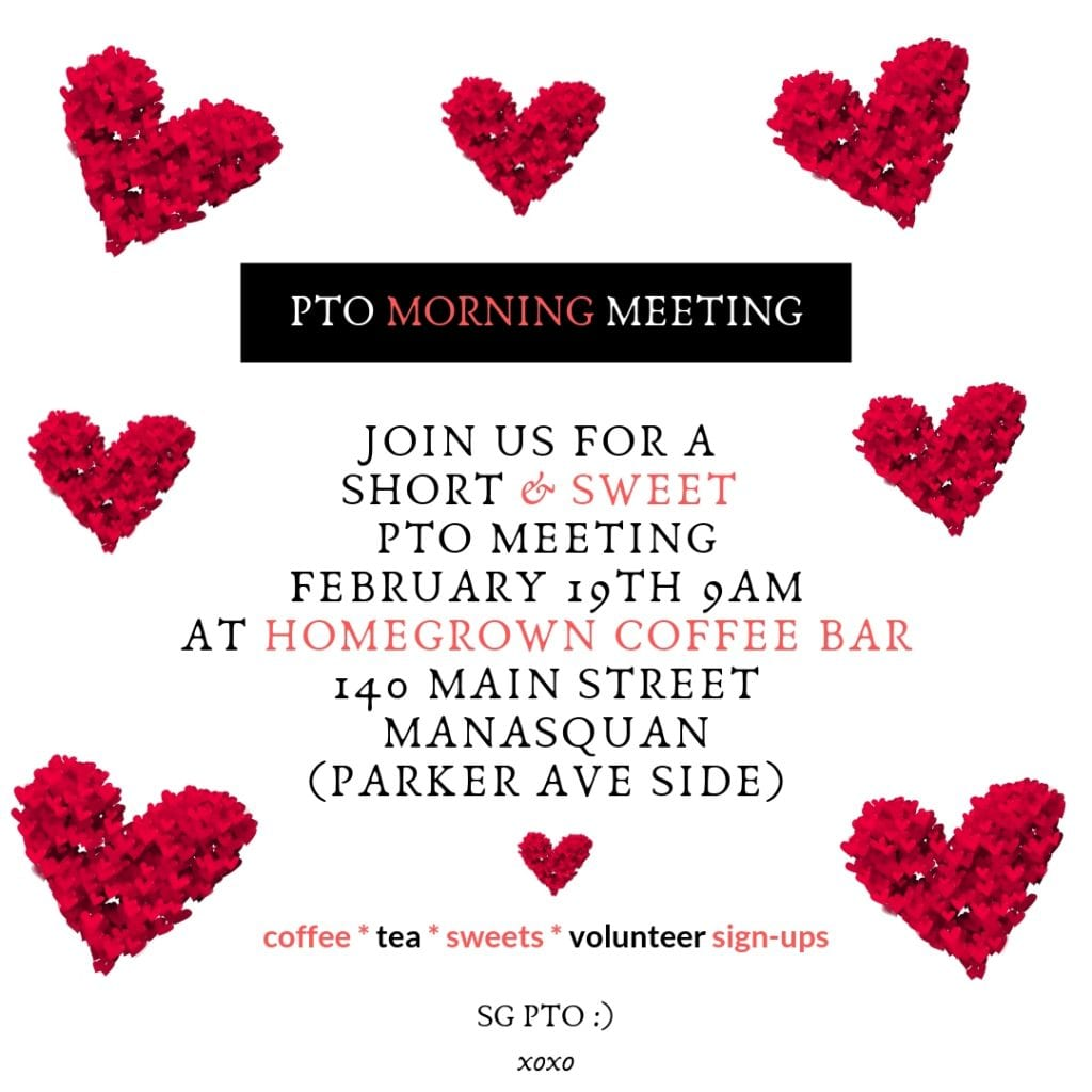 Valentine's Day PTO meeting 2019