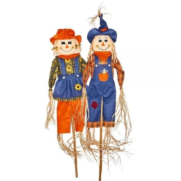 Undecorated Halloween Scarecrows